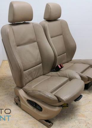 BMW X5 E53 - передние кожаные сиденья