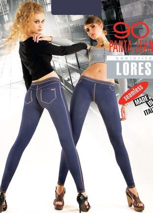 """Женские лосины """"Lores Panta Jeans"""" 90den Италия"""