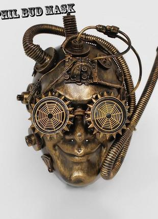 Маска на Хеллоуин стимпанк магический механик