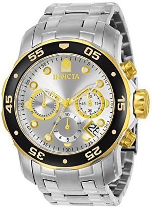 Оригинал Швейцарские Invicta 80040 Pro Diver Хронограф