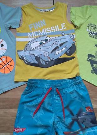 Комплект брендовой  одежды мальчику 5-6 лет р 110  7 единий