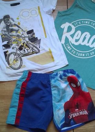 Комплект брендовой одежды на мальчика 9-10 лет р 134-140. 5 ед...