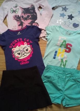 Огромный пакет брендовой детской одежды