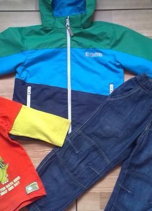 Стильная одежда мальчику 4-5 лет р 110 3 шт