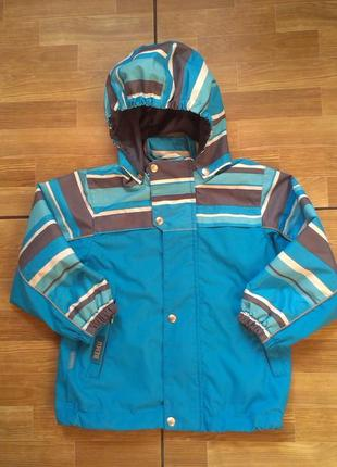 Куртка ветровка  travalle на мальчика 3 года р 98