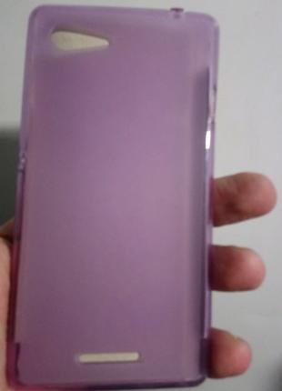 Чехол-бампер силиконовый sony d2202