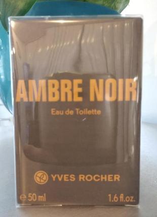 "Чоловіча туалетна вода ""ambre noir"" 50мл"