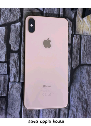 Iphone Xs Max Gold 256 GB neverlock