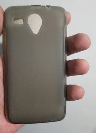 Чехол-бампер силиконовый lenovo a228t