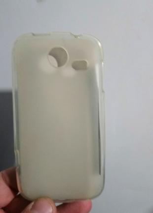 Чехол-бампер силиконовый lenovo a750