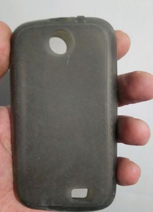 Чехол-бампер силиконовый lenovo a218t