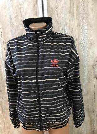 Куртка курточка ветровка мастерка спортивная кофта adidas адид...