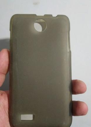 Чехол-бампер силиконовый lenovo a560