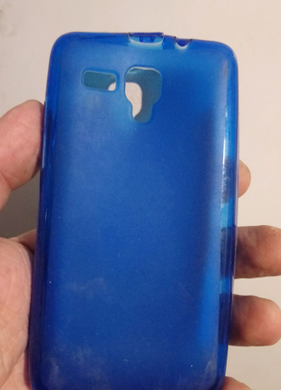 Чехол-бампер силиконовый lenovo a396