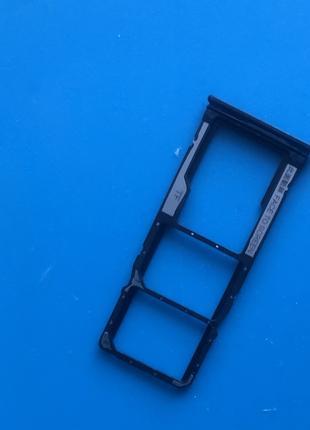 Сим лоток Xiaomi Redmi 7 Eclipse Black