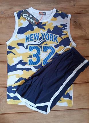 Футболка без рукавов и шорты форма для баскетбола от тм origin...