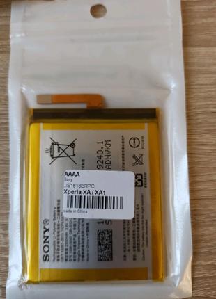 Аккумулятор Sony LIS1618 Xperia XA 2300 mah