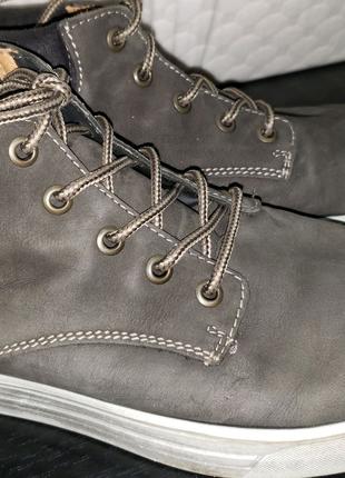 Полу ботинки мокасины 37р ricosta