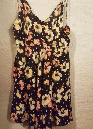 Легкий сарафан, платье летнее