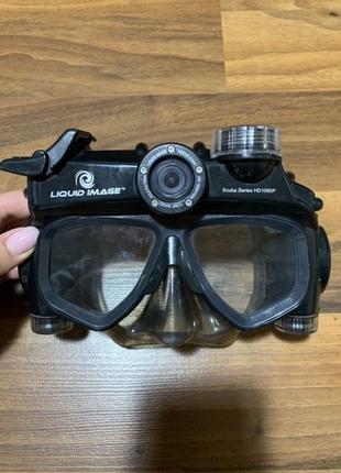 Маска для подводного плаванья Liquid image
