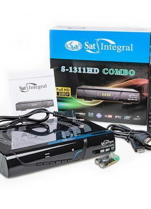 Комбинированный ресивер SAT-INTEGRAL S-1311 HD COMBO