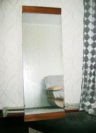 Большое напольное настенное интерьерное зеркало 140х50