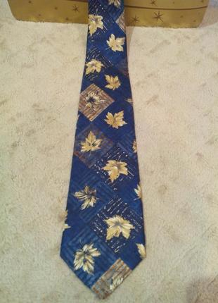 Шелковый галстук giorgio  италия