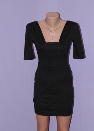 Распрадажа,маленькое черное трикотажное платье