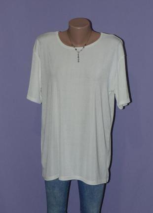 Кремовая /стрейчевая футболка