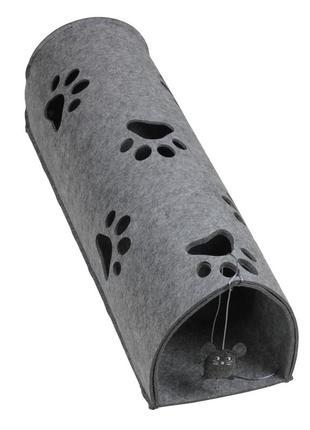 Домик-туннель большой с мышкой для кошки kitty tunnel red poin...