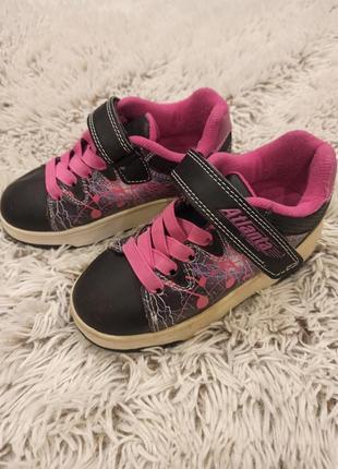 Роликовые кроссовки atlanta by heelys