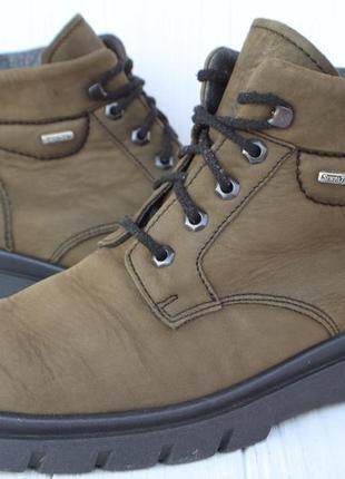 Зимние ботинки rohde кожа сделаны в германии 44р непромокаемые