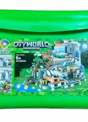 Конструктор 7434 My world Майнкрафт валізі Шахта зі скарбами 937