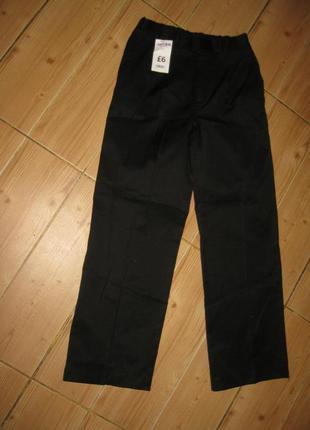 """Новые школьные брюки """"boyes"""" на 10 лет пояс-резинка"""