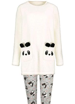 Tёплая уютная  пижама панда george