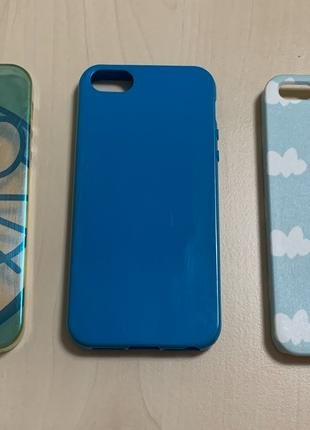 Комплект чехлов для iPhone 5/5s