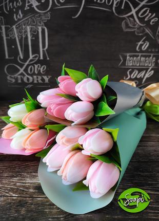 Мини букет тюльпанов
