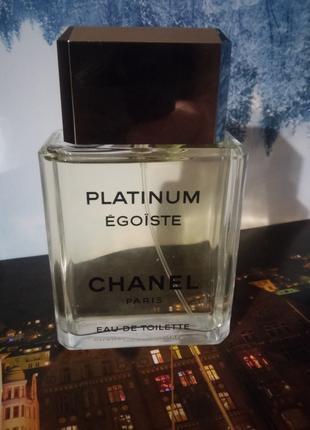Мужская Туалетная вода Chanel Égoïste Platinum 100 ml EDT