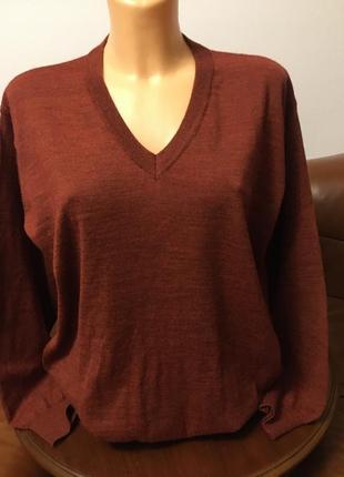 Шерстяной свитер джемпер италия