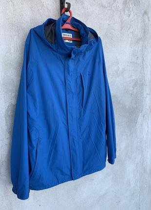 Мужская синяя куртка, ветровка timberland оригинал