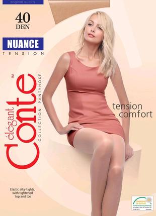 Колготи жіночі Conte elegant Nuance 40den 3M Natural