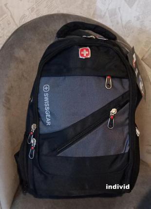 Небольшой швейцарский рюкзак c кабель usb и j3. школьный портф...