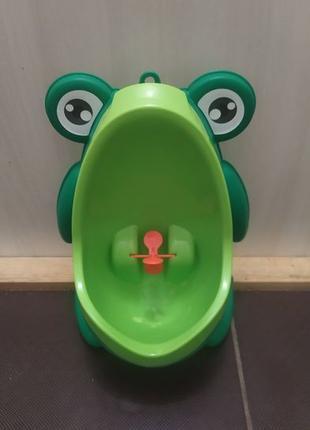 Детский писсуар жабка