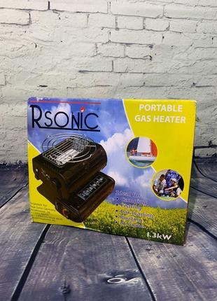 Переносной газовый обогреватель Rsonic - Германия!