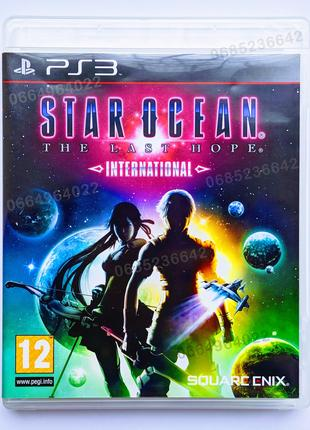 STAR OCEAN The Last Hope International PS3 playstation 3 диск