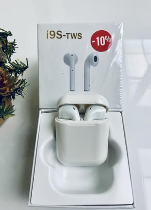 Беспроводные наушники I9S TWS Bluetooth (новые)