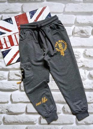 Спортивные мальчиковые штаны 7,8,9лет.турция