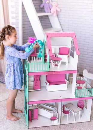 Кукольный домик,дом для кукол барби,ляльковий будиночок,будини...