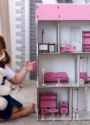 Нереальный кукольный домик для лол,дом для кукол lol МЕБЕЛЬ В ...