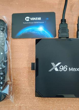 Смарт ТВ приставка X96 Max plus 2 Android TV Box
